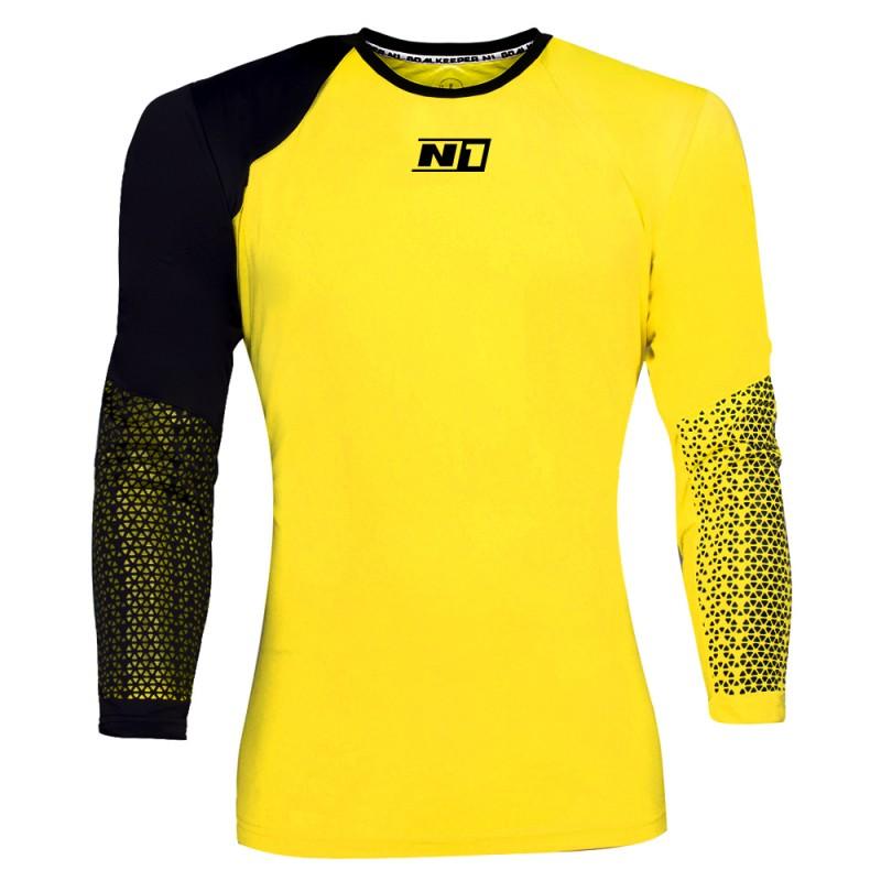 Camiseta de Portero Amarilla
