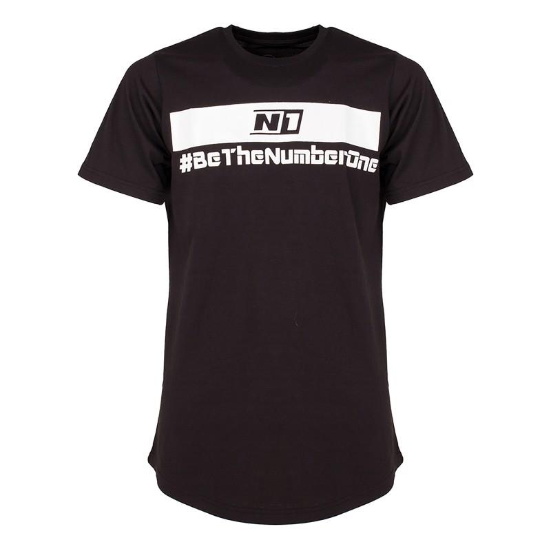 Camiseta Longa Negra