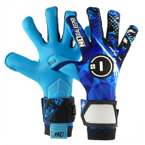 Goalkeeper Gloves Zeus Blue UGT+