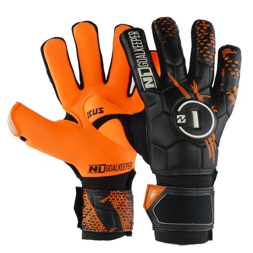 Goalkeeper Gloves Zeus Kids Orange