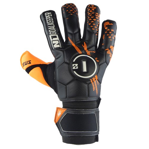 Goalkeeper Gloves Zeus Kids Orange