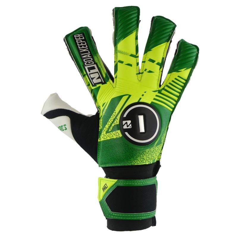 Goalkeeper Gloves Ares Kids Green