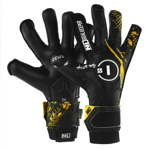 Goalkeeper Gloves Zeus Gold UGT+