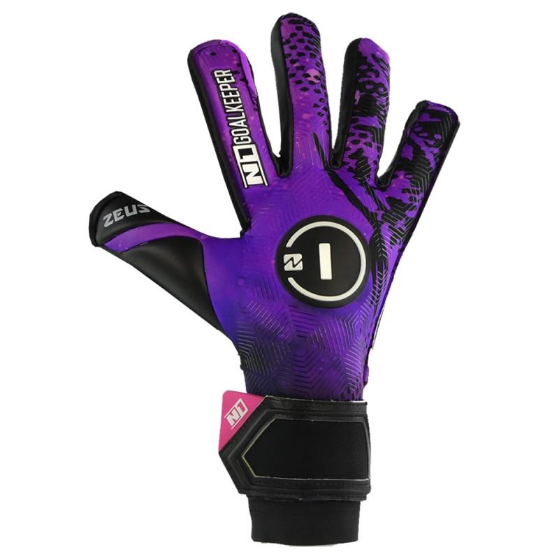 Goalkeeper Gloves Zeus Purple UGT+