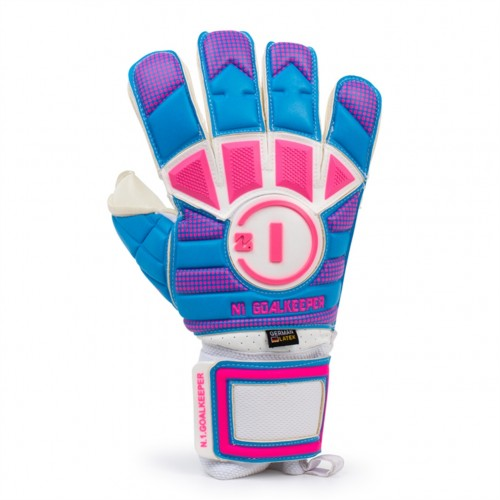 Goalkeeper Gloves Horus Elite Sky Pink