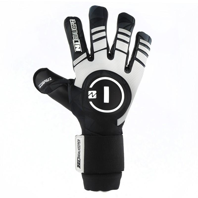 Goalkeeper Gloves Scorpius Black UGT+