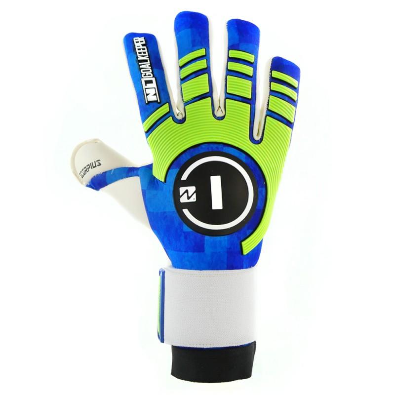 Goalkeeper Gloves Scorpius Blue UGT+