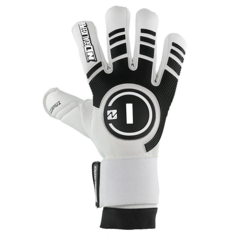Goalkeeper Gloves Scorpius White UGT+