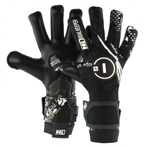 Goalkeeper Gloves Zeus Black UGT+