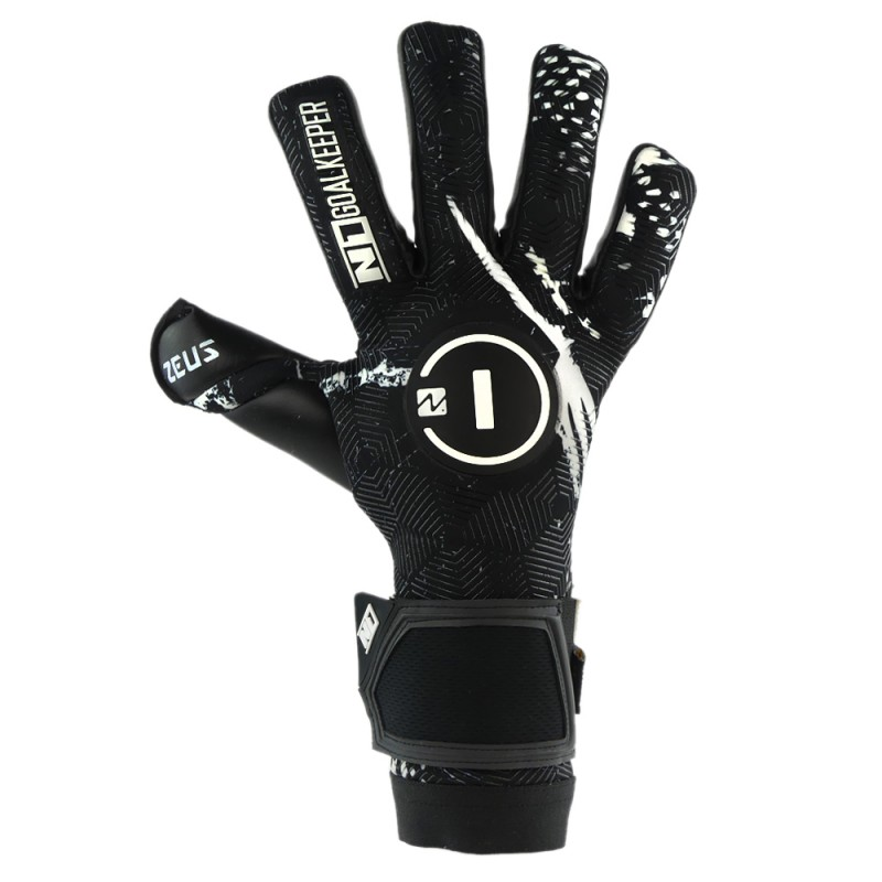 Goalkeeper Gloves Zeus Black UGT+
