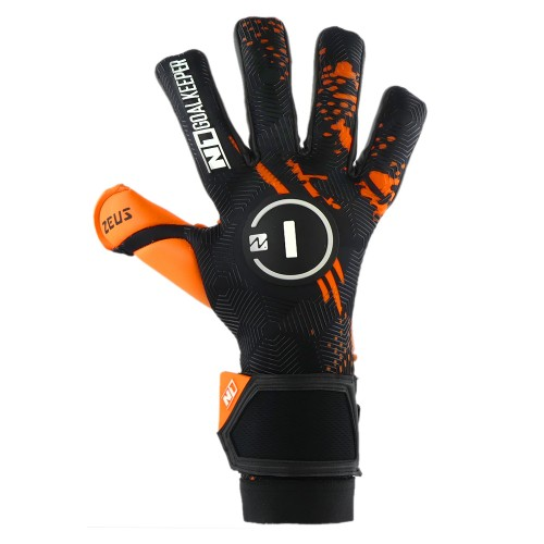 Goalkeeper Gloves Zeus Orange UGT+