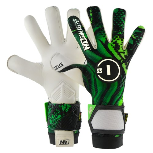 Goalkeeper Gloves Zeus Green UGT+