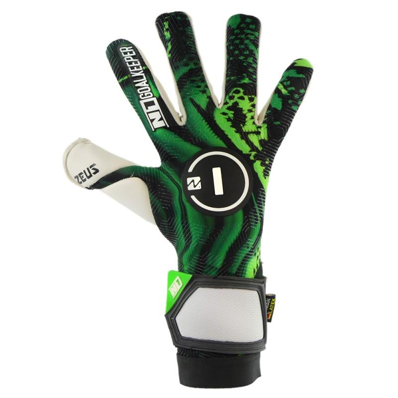 Goalkeeper Gloves Zeus Green UGT+