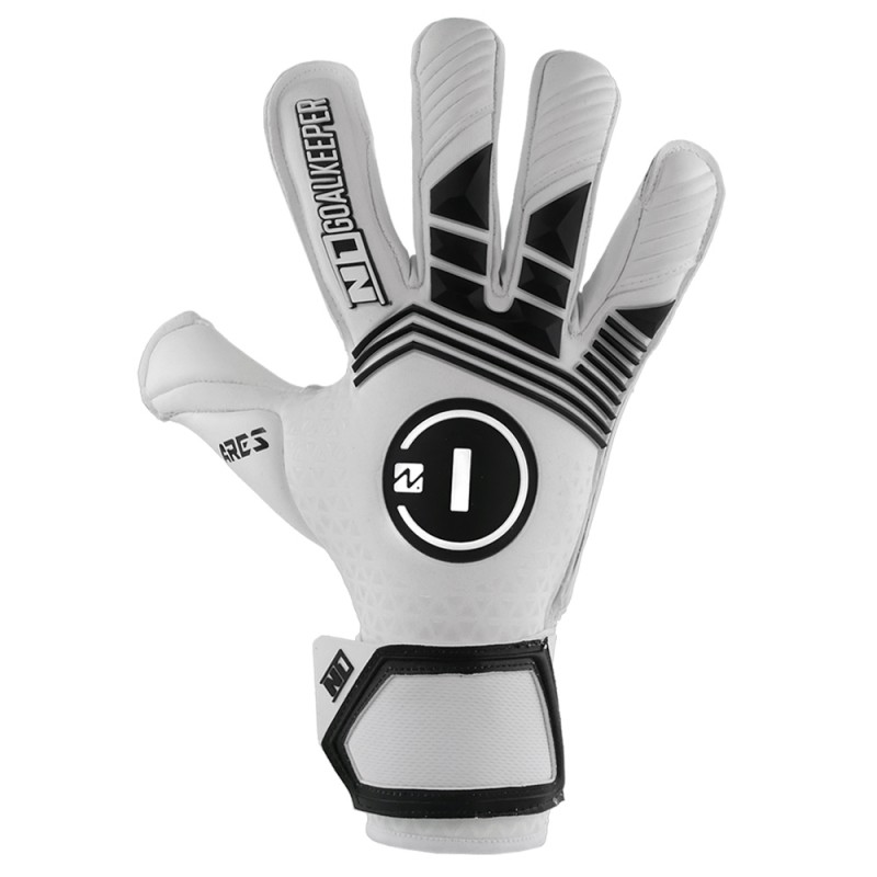 Goalkeeper Gloves Ares White UGT+